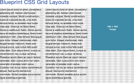Blueprint css grid based layouts make web page layouts easy grid based layouts make organizing the information on a web page a snap with grid based layouts you can forget about pixels and points and all those other malvernweather Choice Image